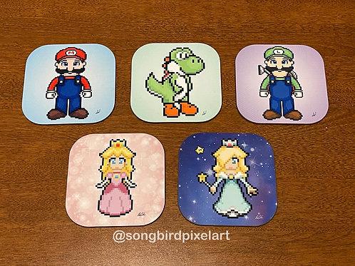 Mario and crew