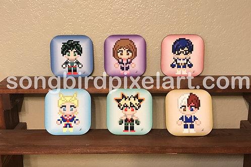 My Hero Academia Coasters