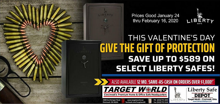 Liberty Safe Valentine's Day Special Jan