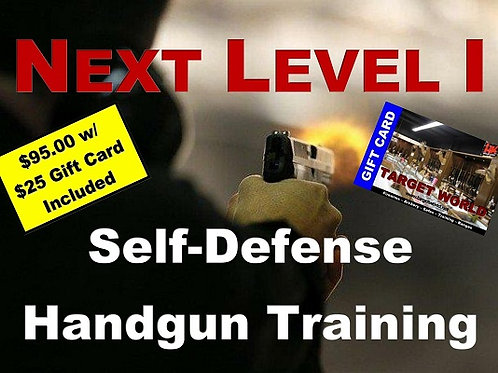 NEXT LEVEL I Concealed Carry Training, Fri August 28 & Sat August 29, 2020