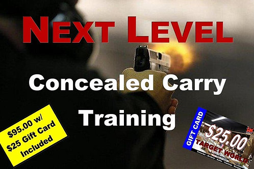 Next Level Concealed Carry Training, Fri Dec 27 & Sat Dec 28, 2019
