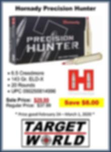 Hornady Precision Hunter 6.5 Creedmore (