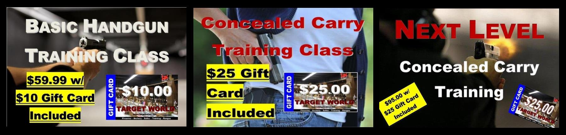 Training Slider (with Gift Cards)