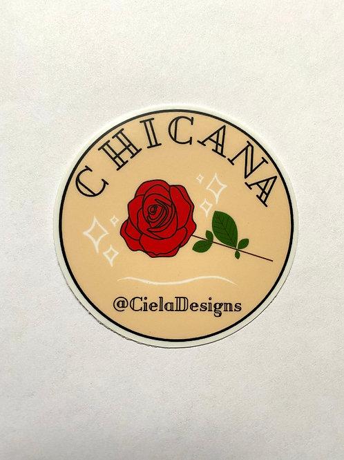 Chicana Sticker