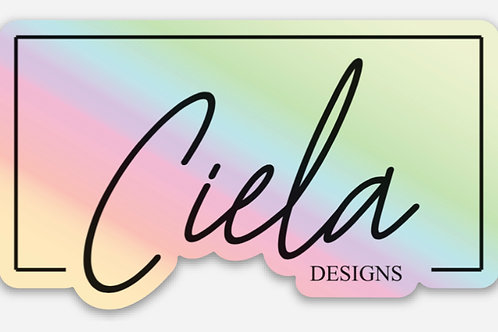Ciela (Brand)- Holographic Sticker