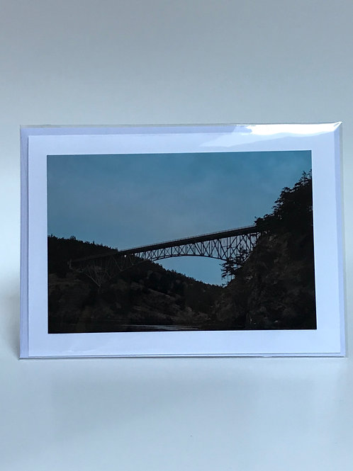 Deception Pass - Greeting Card