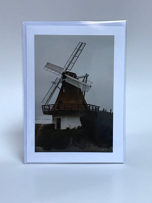 Windmill - Greeting Card
