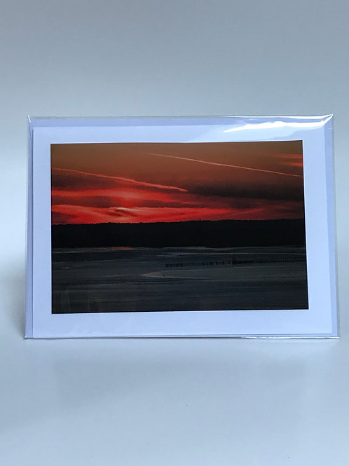 Sunset - Greeting Card