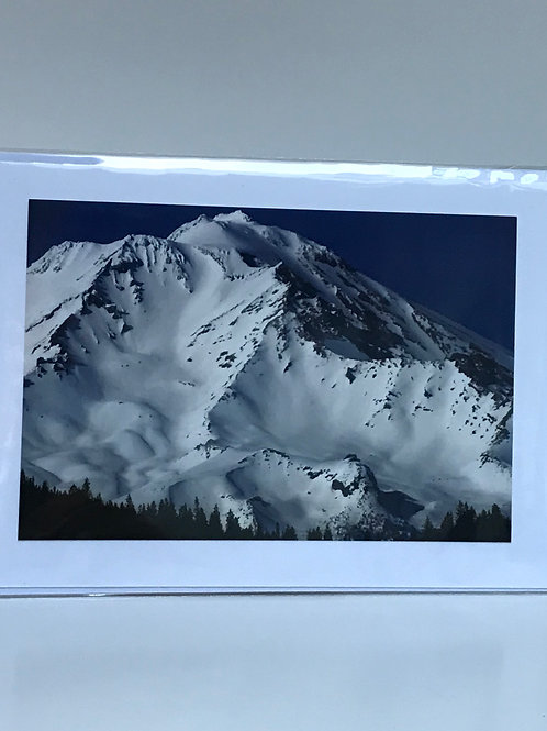 Mt. Shasta - Greeting Card