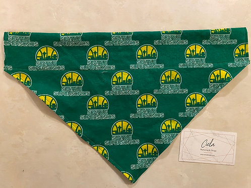 Seattle Supersonics Pet Bandana
