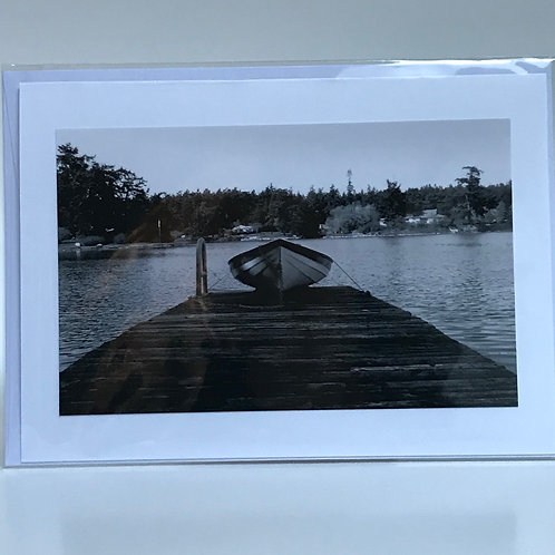 Boat - Greeting Card