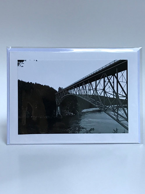 Full Deception Pass - Greeting Card