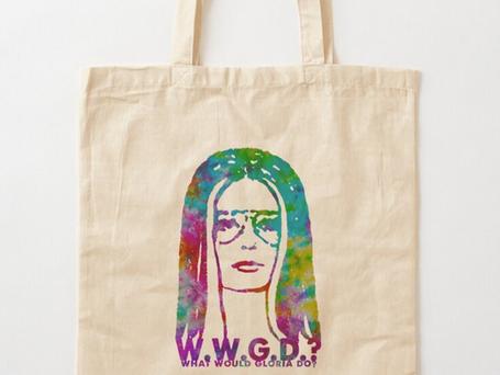 W.W.G.D.? GLORIA BIRTHDAY EDITION TOTE