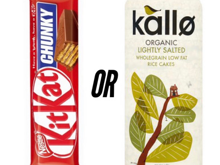 Losing weight eating chunky KitKats??