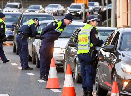 NSW/VIC border closure