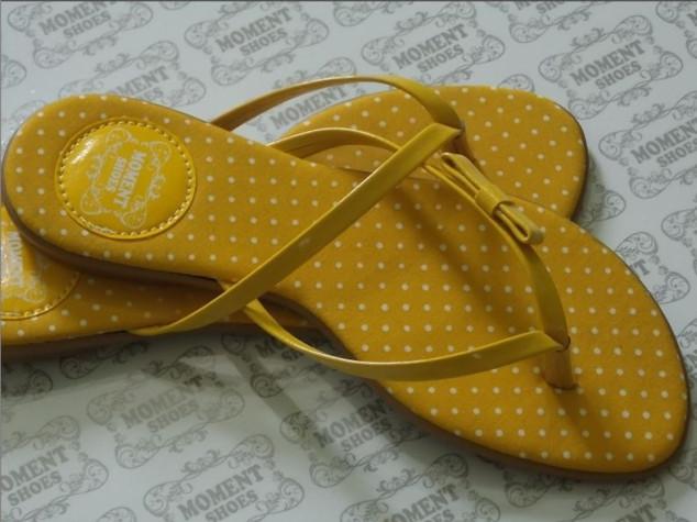 Ref: 086 Poá tricoline amarelo