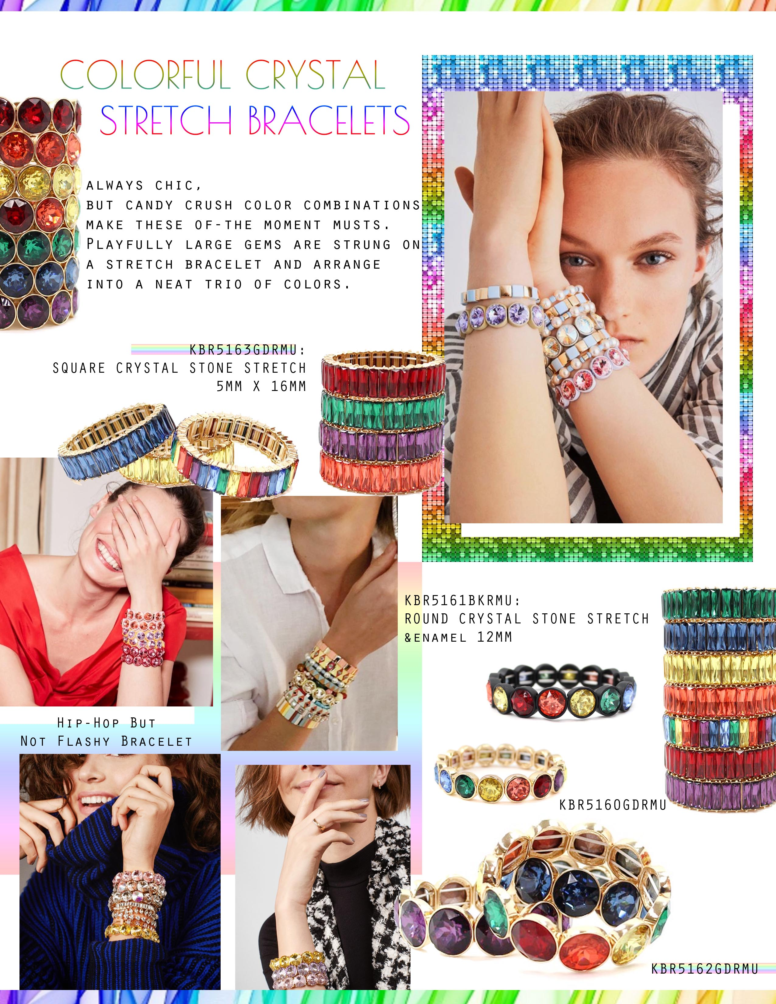 COLORFUL CRYSTAL BRACELET