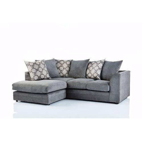 Maryland Left Hand Grey Corner Sofa