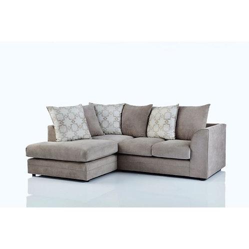 Maryland Left Hand Beige Corner Sofa