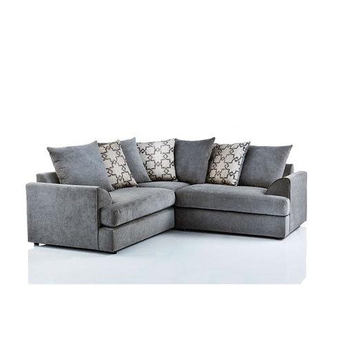 Havana Symmetrical Graceland Grey Corner Sofa