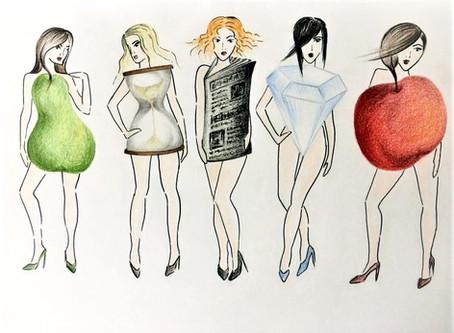 5 základních typů postav dle tvaru ženského těla