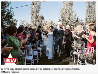 La melódica boda de Teresa y Francisco
