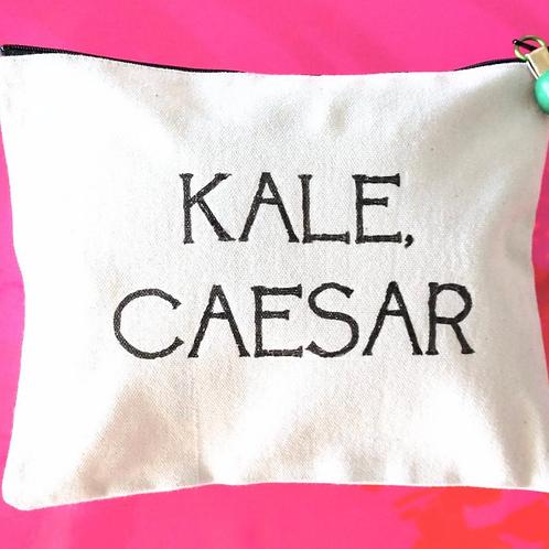 Canvas Pouch - Kale Caesar