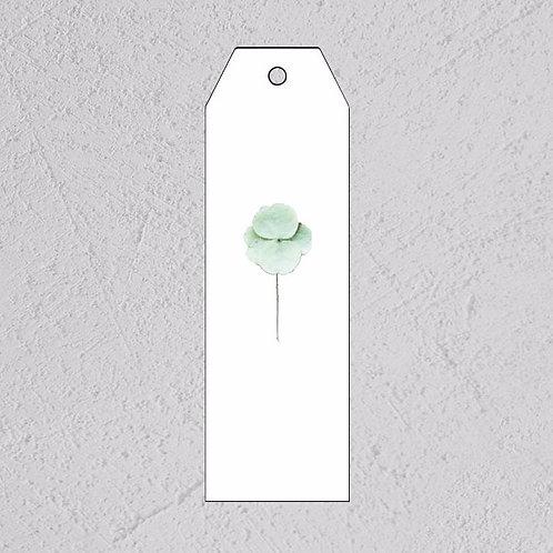 GAVELAPP - hvit blomst