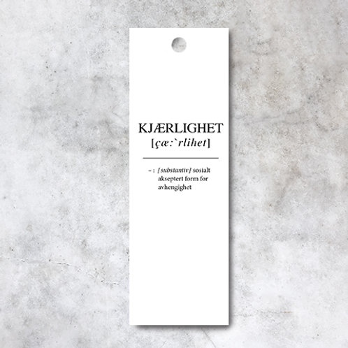 GAVELAPP -KJÆRLIGHET