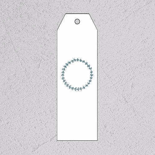 GAVELAPP - blå krans