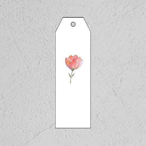 GAVELAPP - rosa blomst