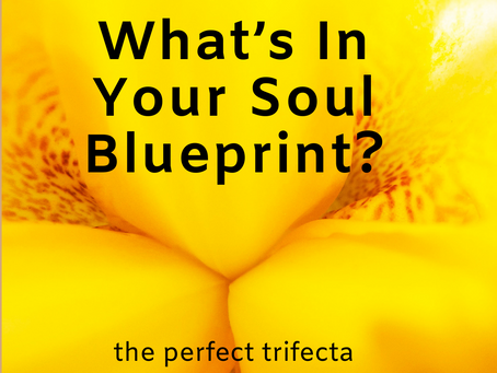 What's In Your Soul Blueprint – the perfect trifecta