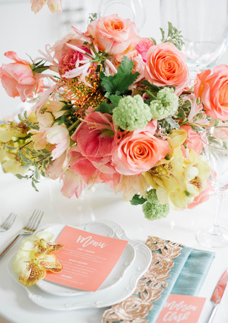 Intrigue Designs Place Setting