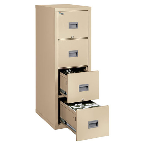 4P1825C 4 Drawer Letter and Legal File  FireKing® Security Group