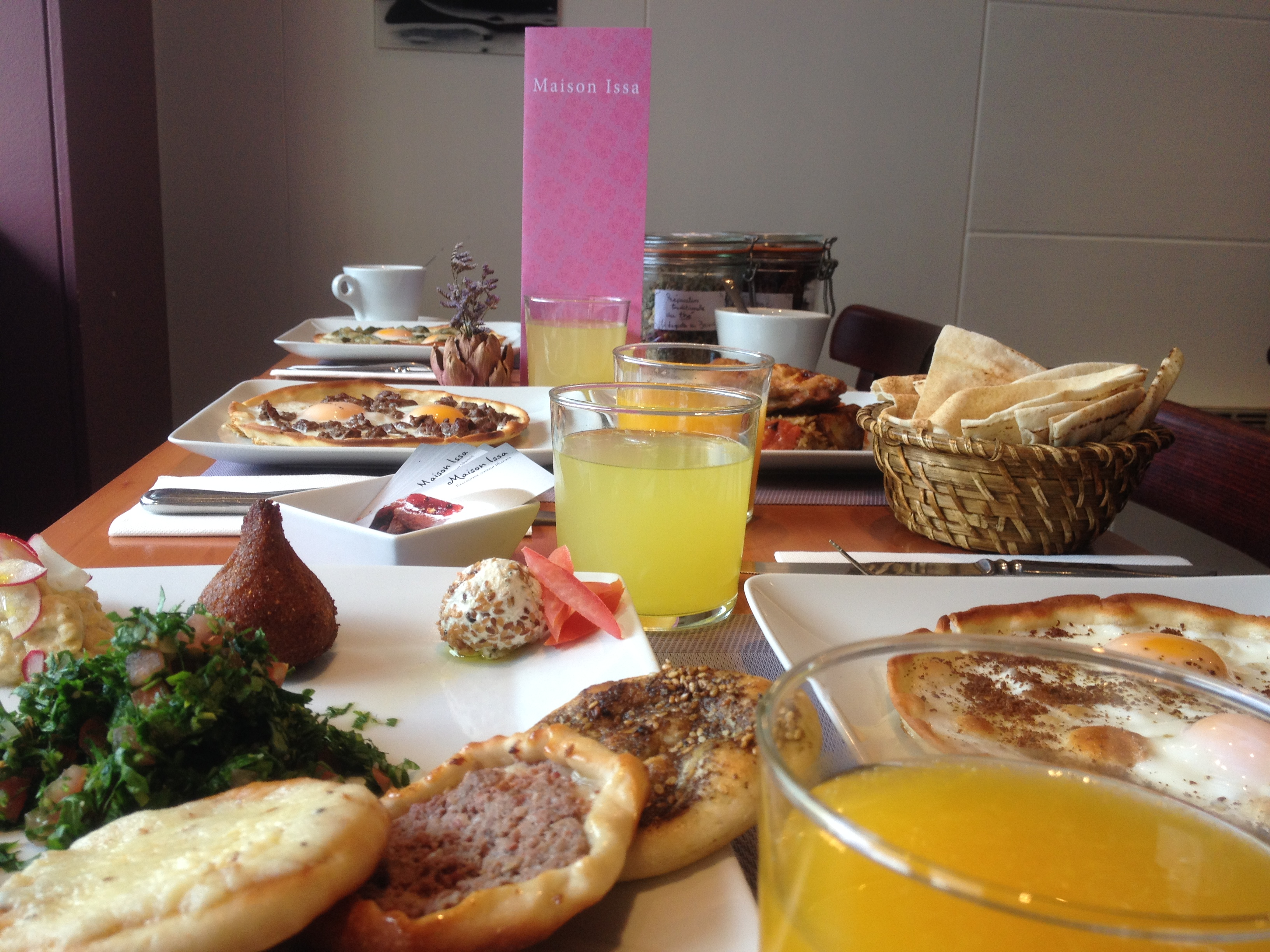 La table du brunch