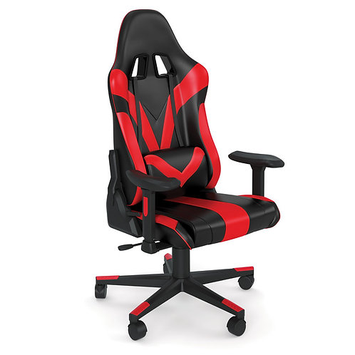 37801 Renegade Raider Gaming Chair with RED & BLACK