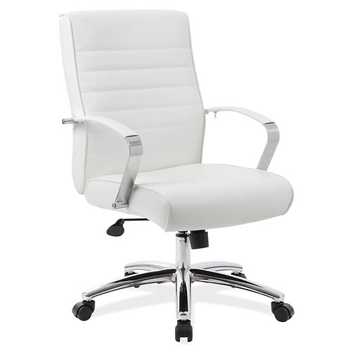 696 Mid Back Chair with Chrome Frame