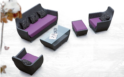 5-Piece Outdoor Sofa Set