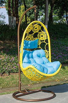 Outdoor Swing Chair Steel Frame