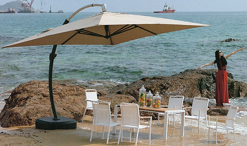 12 Feet Heavy Duty Cantilever Outdoor Umbrella
