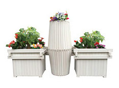 Outdoor Flower Stand Composite