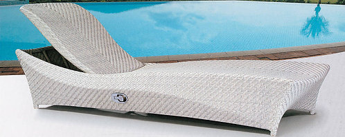 1-Piece Folding Sunbathing Lounge Chair