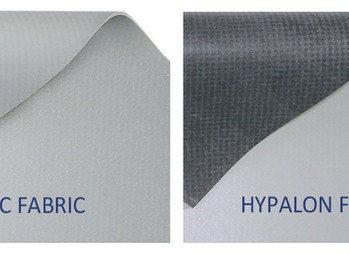 PVC vs Hypalon Fabric
