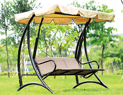 Swing Bench Aluminum Frame and Polyester Canopy