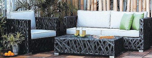 3-Piece Outdoor Lounge Set