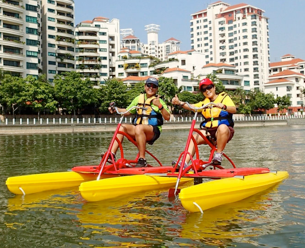Double Person Water Bike Pedal Boat