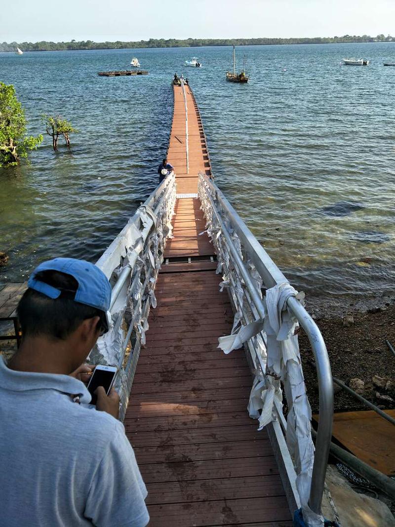 20 Meter Dock with Gangway