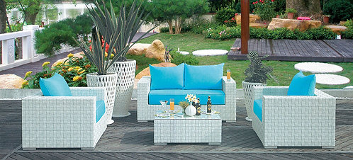 4-Piece Outdoor Lounge Set