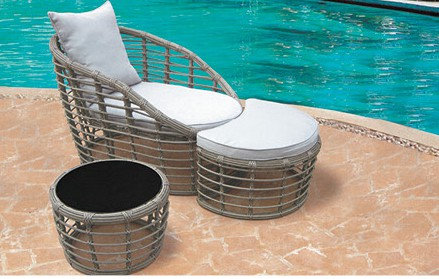 4-Piece Patio Table and Chairs Set
