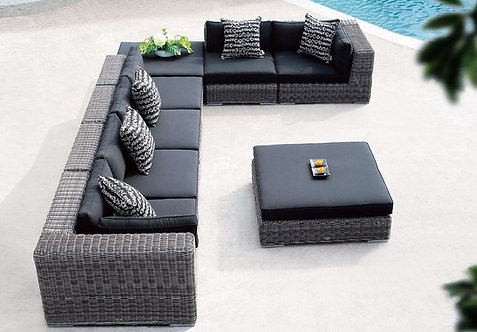 8-Piece Sectional Outdoor Sofa Set